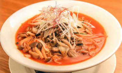 木野子赤味噌鶏白湯麺