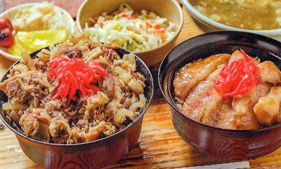 牛丼orトントロ丼