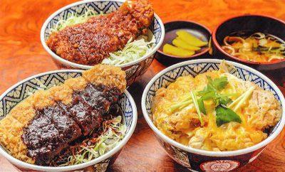 選べる豚カツ丼三種