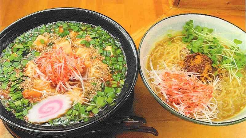 マーボーラーメンorカレー冷し坦々麺