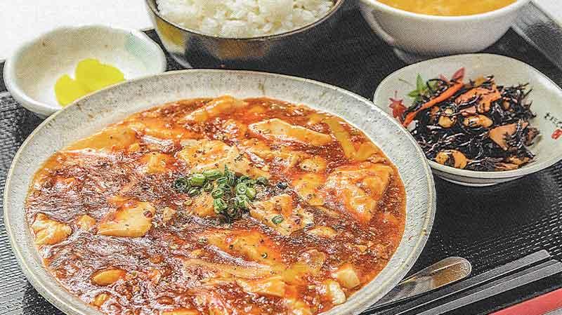 チーズ麻婆定食orチーズ麻婆飯