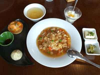 シーアン中国四大料理ランチ1