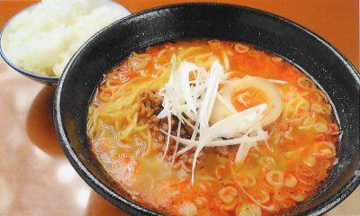 海老坦々麺+小ライス