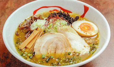 焼干し鶏白湯ラーメン(醤油or塩)