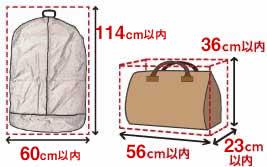 スーツケースサイズJetstar