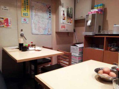 小吃店フェザン店店内2