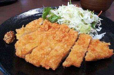 チキンカツ定食3
