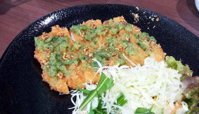 チキンカツ定食4
