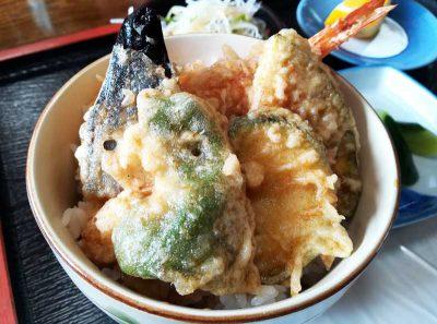 又三郎ミニ天丼ランチ2