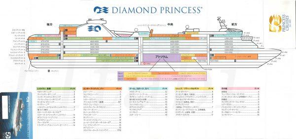 ダイヤモンドプリンセスmap