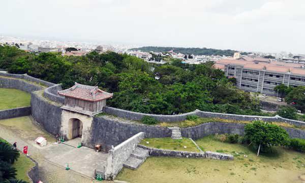 廣福門からの景色