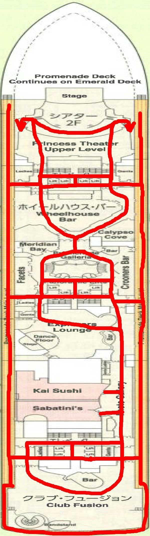 7階通行可能通路