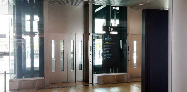 伊丹空港エレベータ