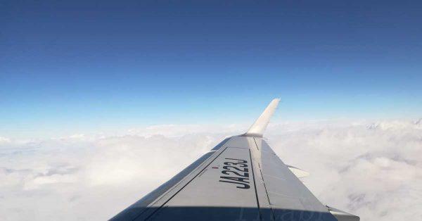 飛行機からの景色1