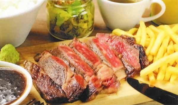 黒毛和牛ロースステーキ