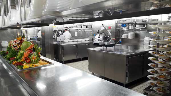 厨房フルーツアート