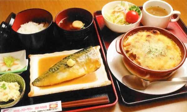 さば味噌定食or焼きカレー