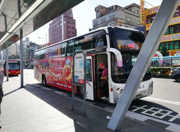 バス停降車専用