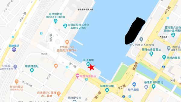 基隆地図海洋広場