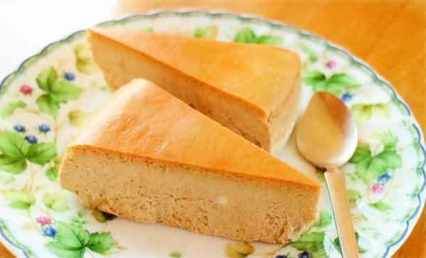 ロイヤルミルクティーチーズケーキ2ピース