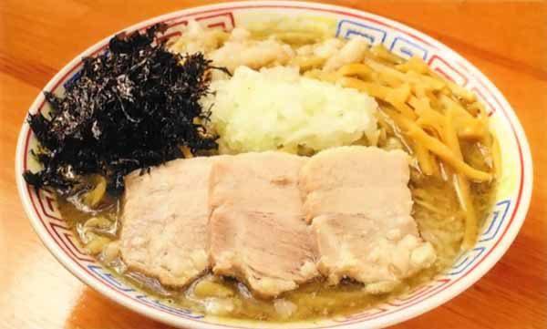 煮干拉麺 濃厚