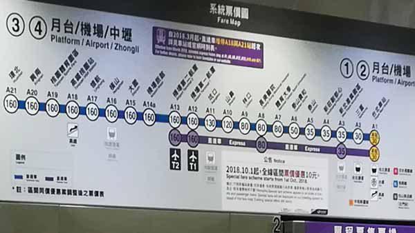 空港線路線図