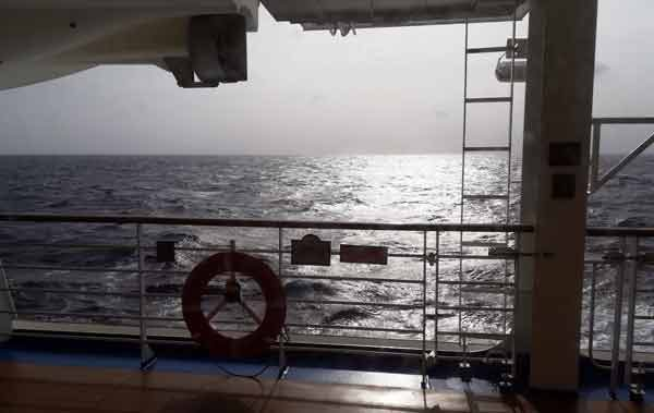 5日目海の景色