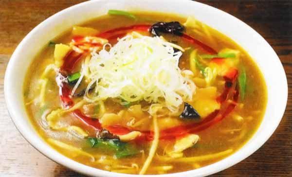 カレーダールー麺