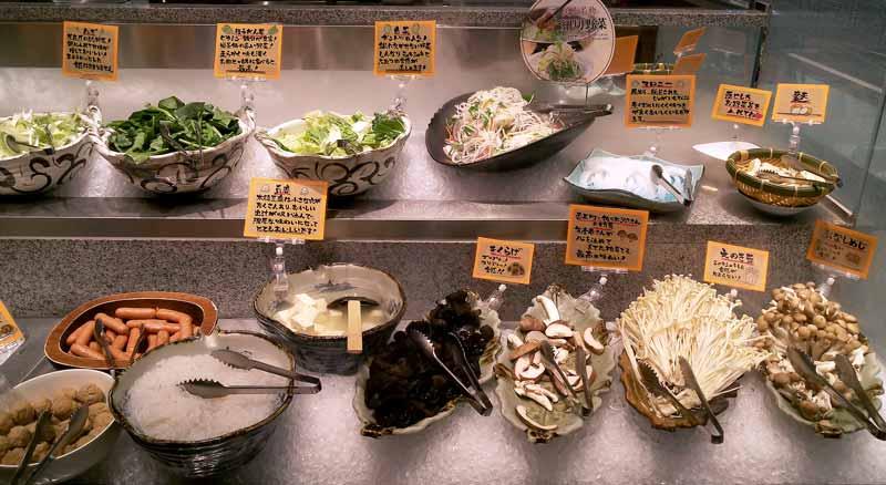 美山野菜バイキング1