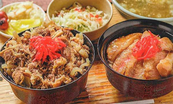 牛丼 or トントロ丼