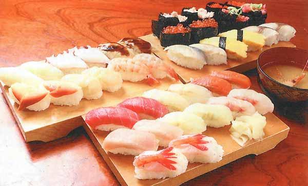 選べるにぎり寿司