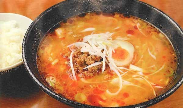 味噌担々麺+小ライス