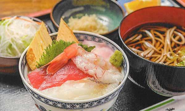 ミニ海鮮丼ランチ
