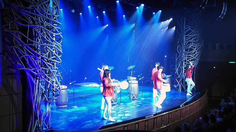 韓国リズムダンスパフォーマンス