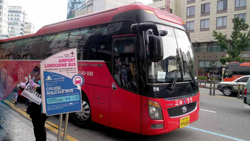 釜山シャトルバス