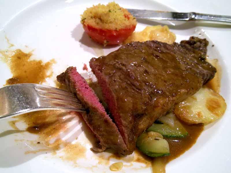 ニューヨークカット牛ストリップステーキ
