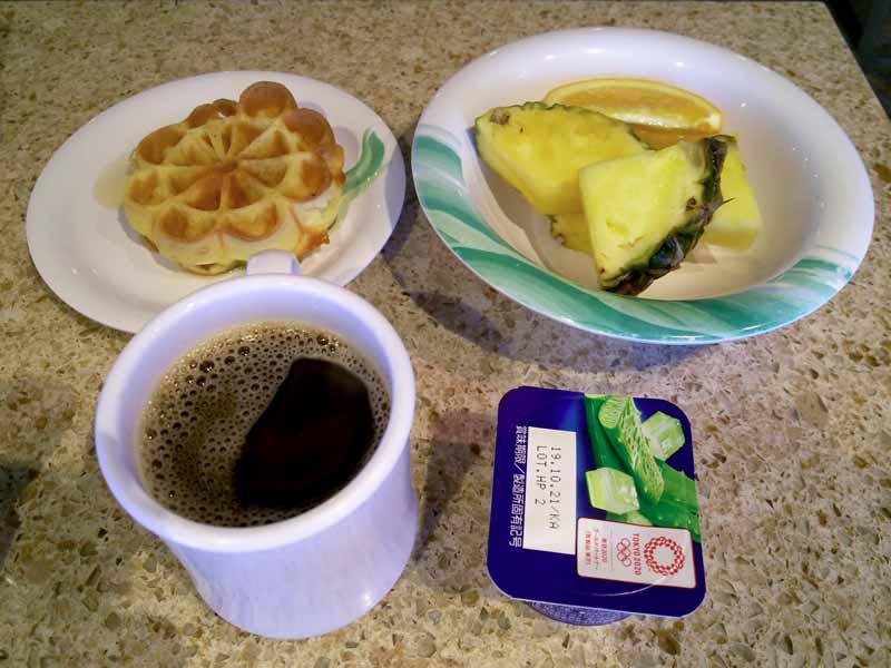 ホライゾンコートの朝食
