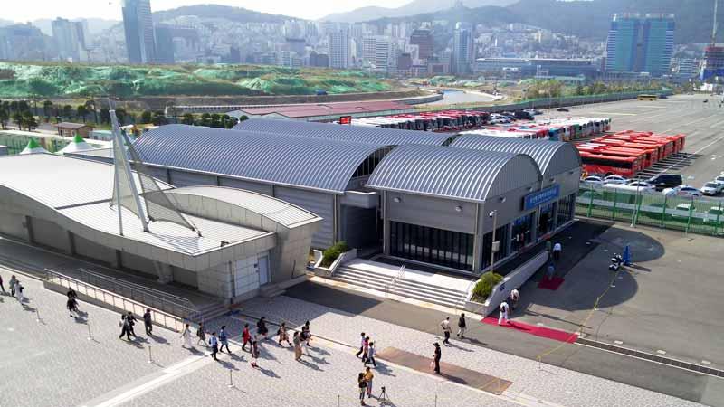 釜山港国際旅客ターミナル2