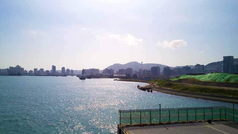 ダイヤモンドプリンセス釜山入港