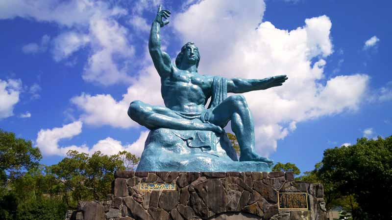長崎平和公園平和祈念像