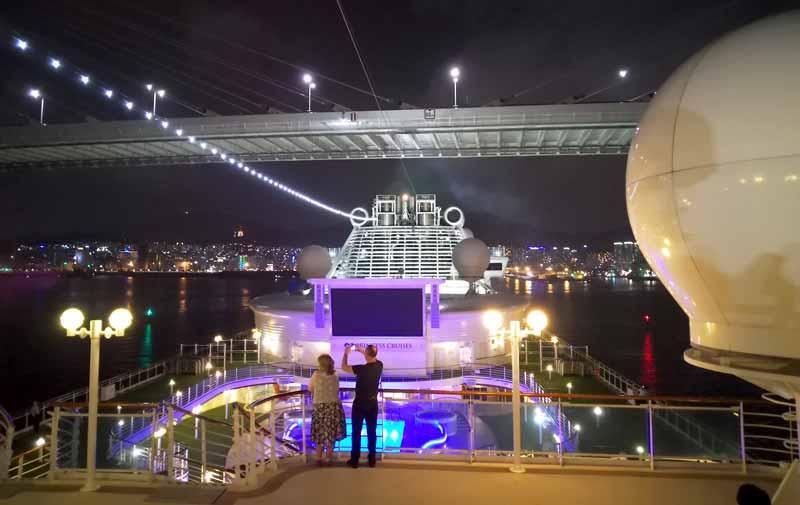 ダイヤモンドプリンセス釜山港大橋