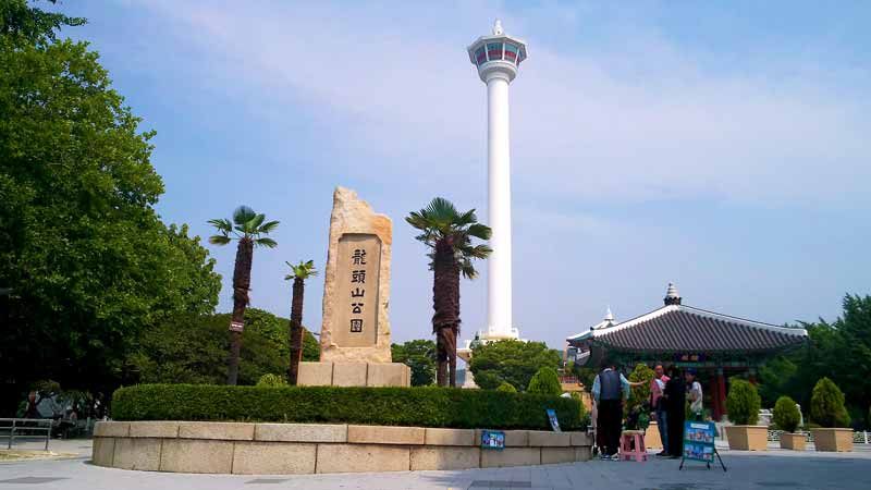 釜山タワー