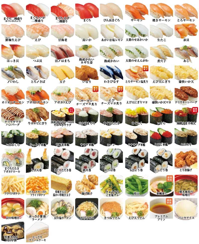 かっぱ寿司食べホ2020春レギュラーメニュー